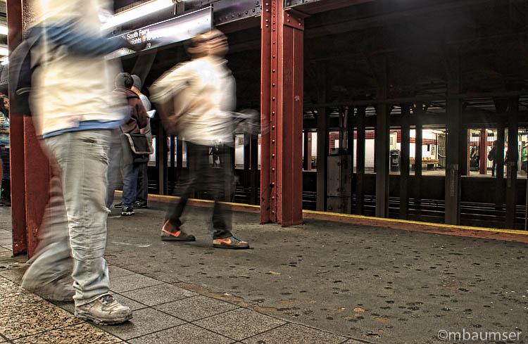 On The Subway Platform