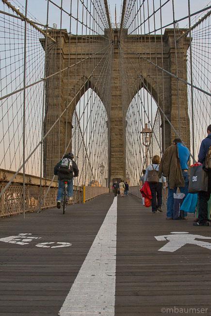 Brooklyn Bridge Cliche