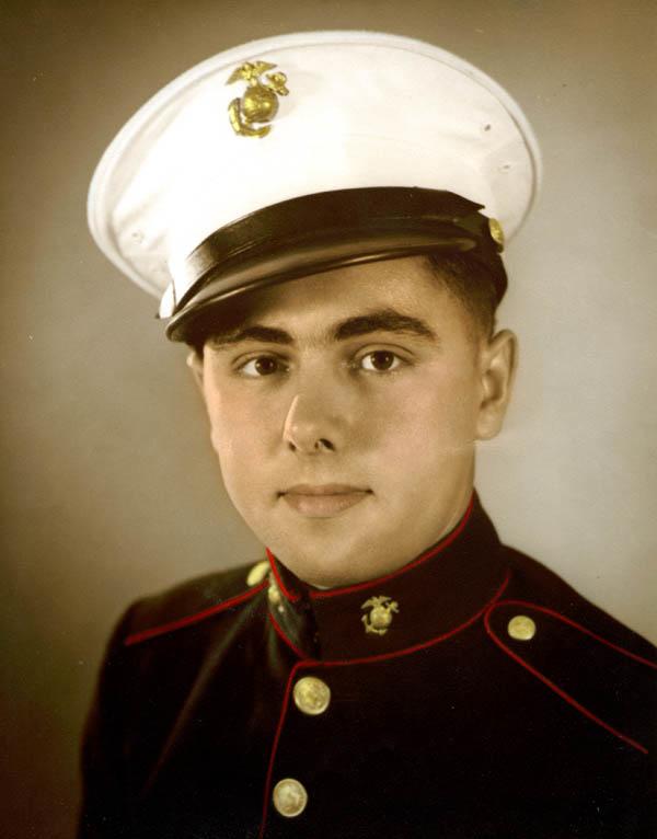 Vernon Hoying, USMC, 1944