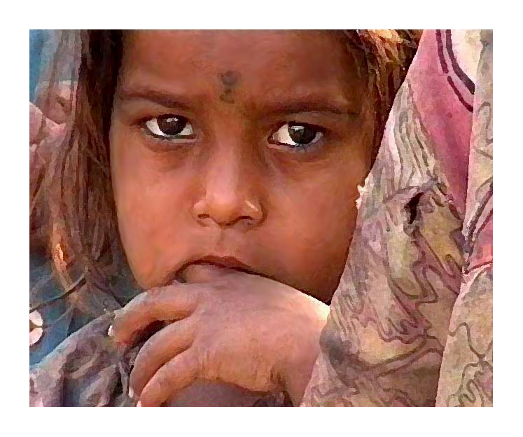 The Migrant Labourers Daughter - Gujarat, India