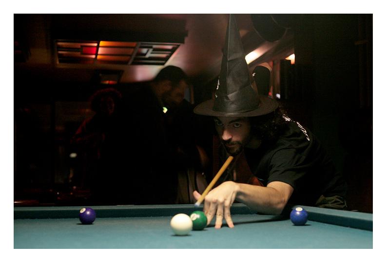 A Wizard At Pool