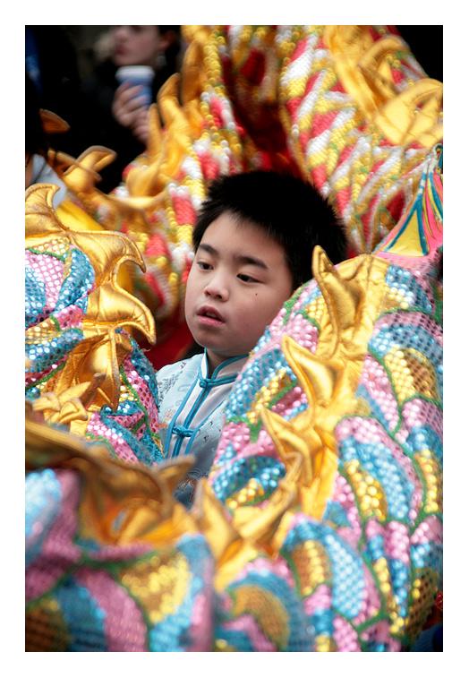 Boy In Dragon
