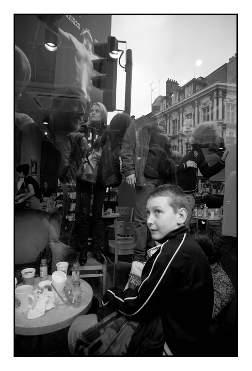 Cafe Reflections