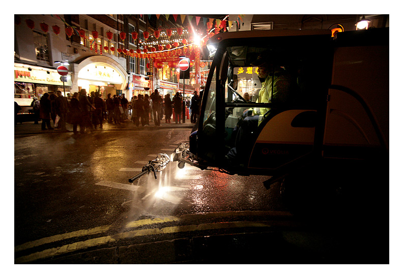 Clean Up In China Town