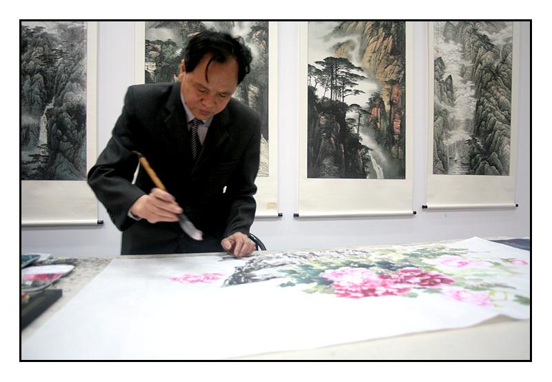 Painter - Three Gorges Museum