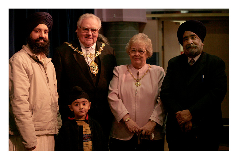 Meeting the Mayor