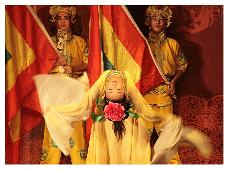 Flag Dance - Sichuan Opera