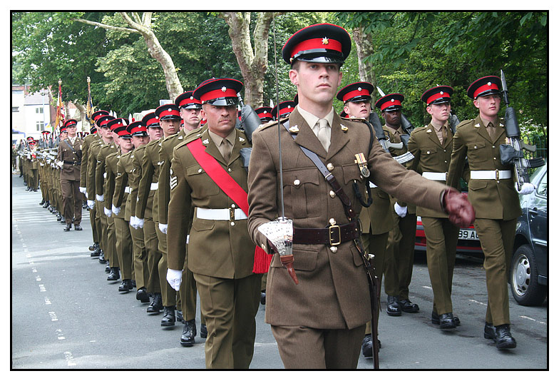 Royal Anglians Get The Freedom of Charnwood