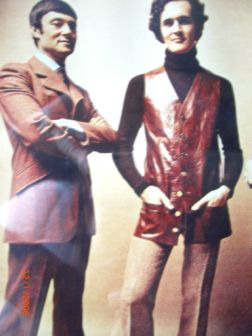 Vidal Sassoon with Roger Thompson