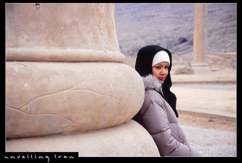 SHE in Persepolis