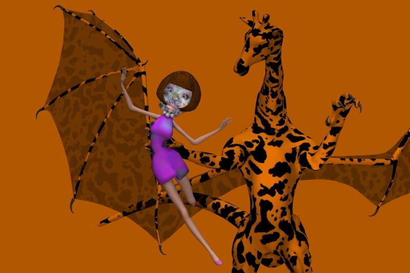 Dragon Giraffe