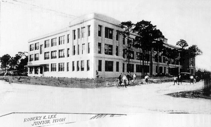 1925 - Robert E. Lee Junior High School in Miami