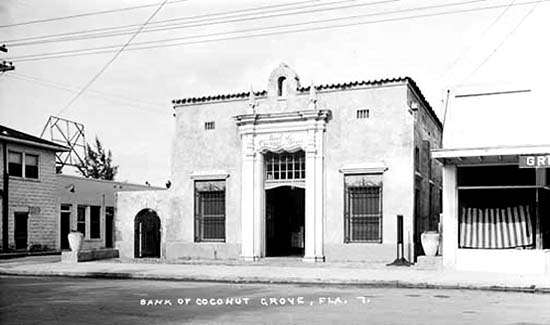 1940s - Bank of Coconut Grove