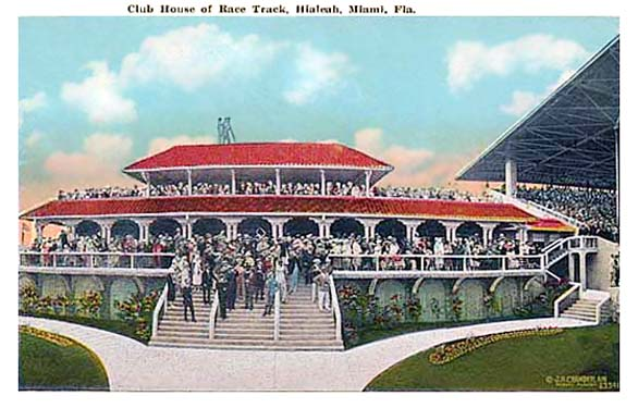 The Clubhouse at Hialeah Race Track
