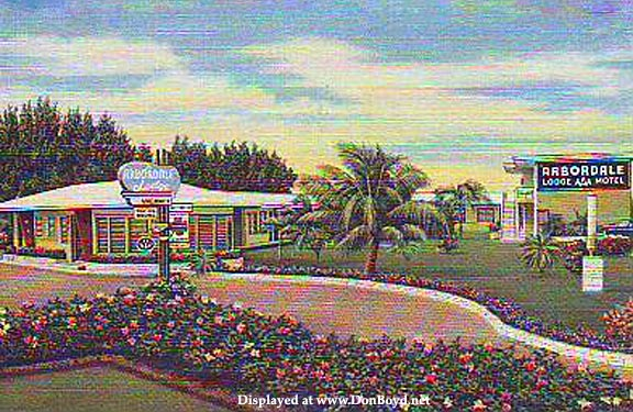 1950s - the Arbordale Lodge Motel at 10800 BiscayneBoulevard (US 1)