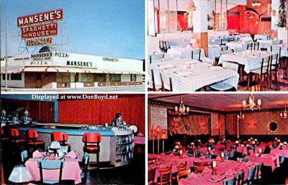 1960s - Duke Mansenes Spaghetti House
