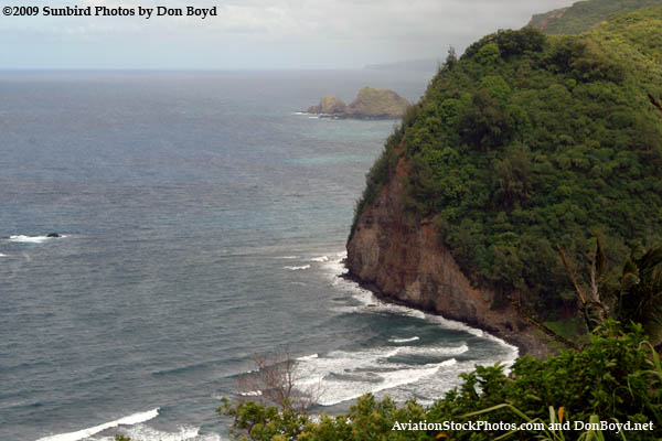 July 25 - a lookout point on the north coast of the Big Island, Hawaii
