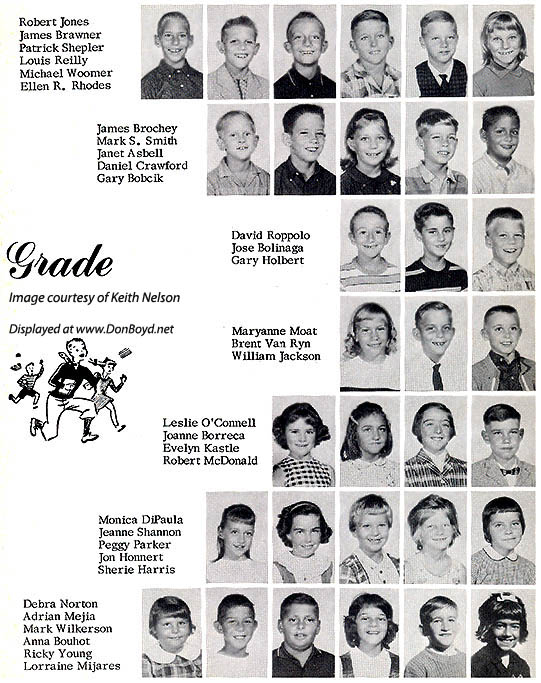 1964 - 3rd grade class at Dr. John G. DuPuis Elementary School - page 4