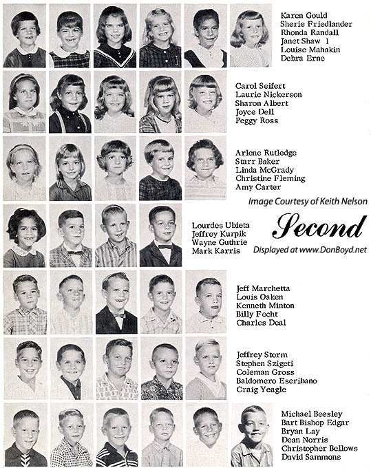 1964 - 2nd grade class at Dr. John G. DuPuis Elementary School - page 1