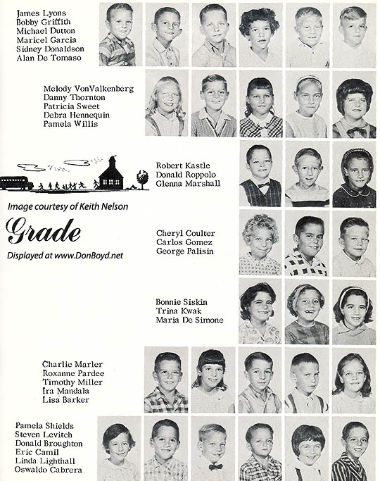 1964 - 2nd grade class at Dr. John G. DuPuis Elementary School - page 2