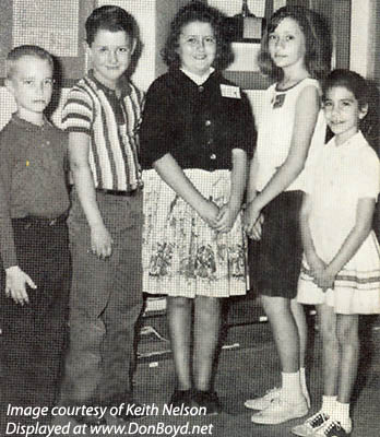 1964 - the Spelling Champs of the 1st, 2nd, 3rd, 4th and 5th Grades at Dr. John G. DuPuis Elementary School, Hialeah