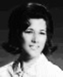 Fran - Frances Cannon senior at Miami Springs Senior High in 1967