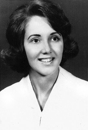 Miami Girl - Jean Hale Lawson in her Palmeto Senior High School photo in 1964