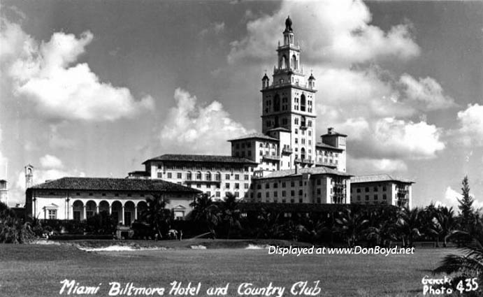 1930s - the Miami Biltmore Hotel and Country Club