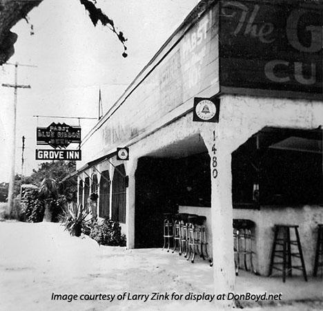 1942 - the Grove Inn at 1480 NW 27th Avenue, Miami