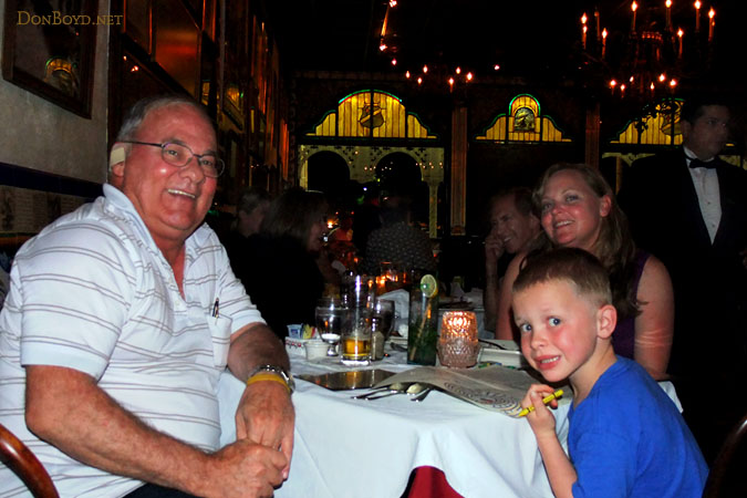 May 2011 - Don, Kyler and Karen Dawn after a great dinner at the Columbia Restaurant in Ybor City, Tampa