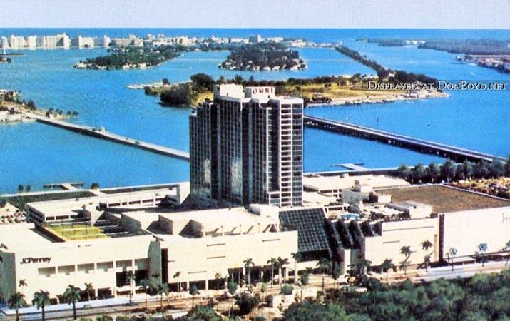 1977 - the Omni Hotel and Omni International Mall on Biscayne Boulevard