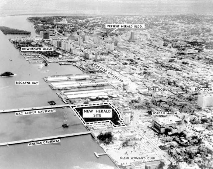 1959 - Miami Herald relocation plans