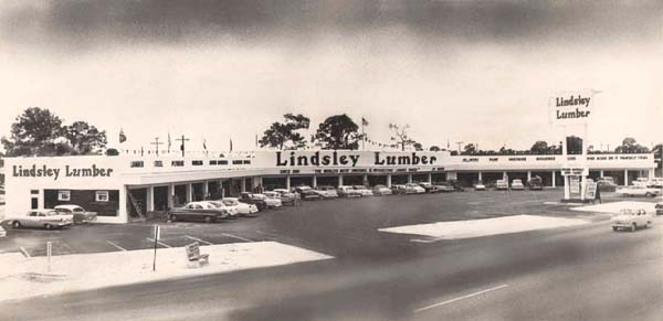 1959 - Lindsley Lumber on NW 7th Avenue and about 128th Street, just south of Food Fair, North Miami