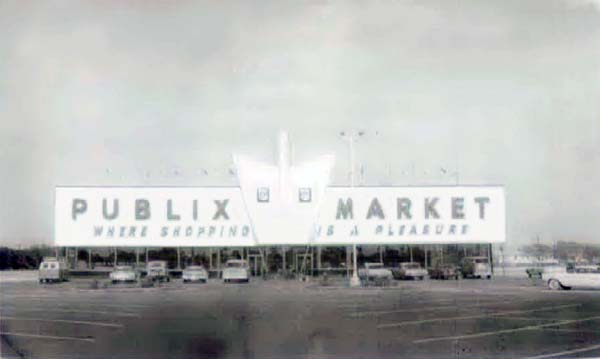 1965   Publix Supermarket At 9420 SW 56 Street, Dade County
