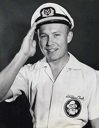 Late 1950s - Skipper Chuck Zink from WTVJ-TV Channel 4 in Miami