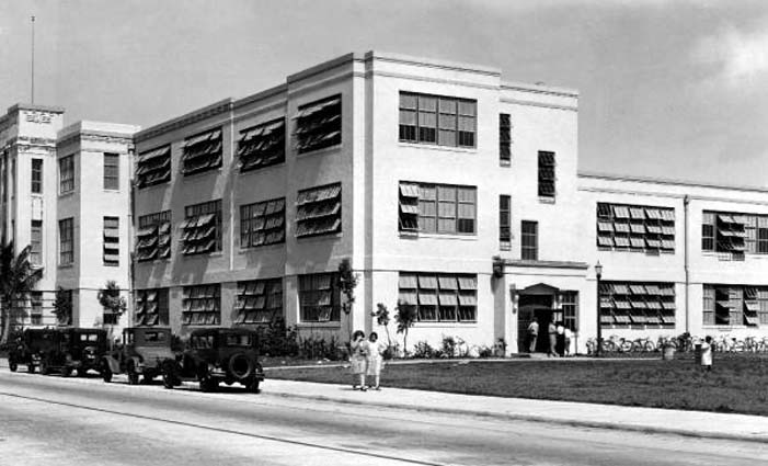1930 - Dade County Agricultural High School, N. W. 2nd Avenue, Miami