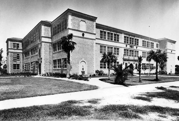 1927 - Ida M. Fisher High School on Miami Beach, named after the mother of Carl G. Fisher