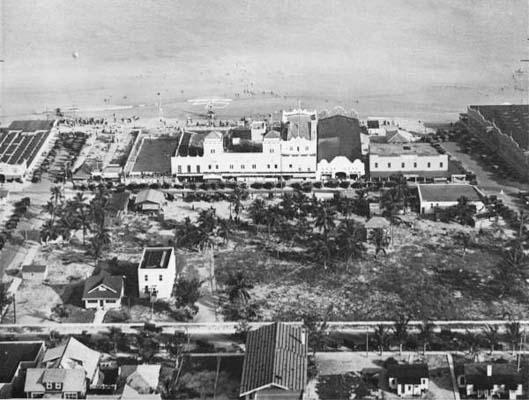 1920 - Hardies and Smiths Casinos on Miami Beach