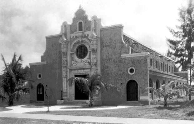 1921 - Miami Beach Congregational Church  (now the Miami Beach Community Church)