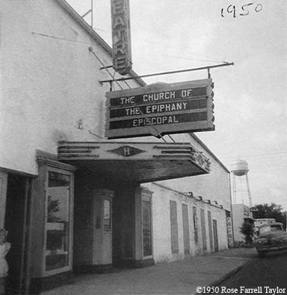 1950 - the Church of the Epiphany Episcopal, Hialeah