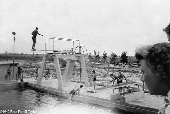 1940 - City swimming pool on East 4th Avenue, Hialeah