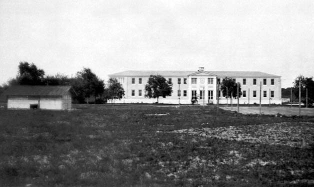 1935 - the boys dormitory after completion at the Kendall Home for Children (aka Dade County Childrens Home)