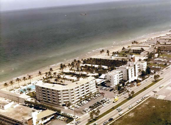 1965 - the Golden Strand Hotel at 17901 Collins Avenue (A1A), Sunny Isles