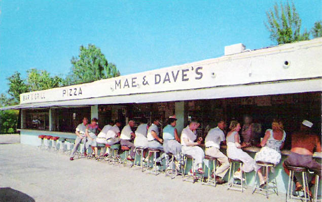 1950s-60s? - Mae & Daves on Palm Avenue in Hialeah
