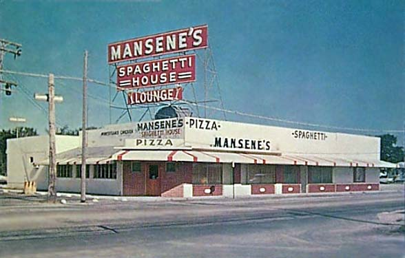 1960s - Duke Mansenes Spaghetti House restaurant in Miami
