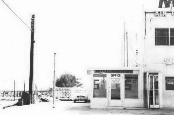 1964 - Budget Rent a Car at the Sunny Isles Motel, 10 Sunny Isles Ocean Beach Boulevard, Sunny Isles