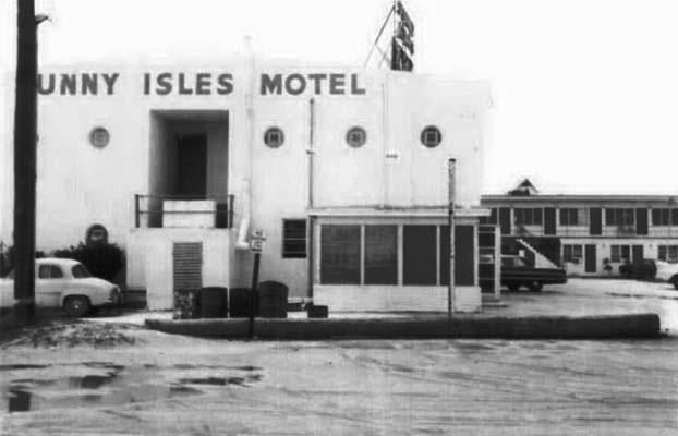 1964 - the Sunny Isles Motel at 10 Sunny Isles Ocean Beach Boulevard, Sunny Isles