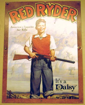 1950s - Daisy Red Ryder advertisement