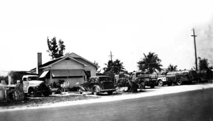 1946 - American Fuel Oil Company at NW 22 Avenue and 51 Terrace, Dade County