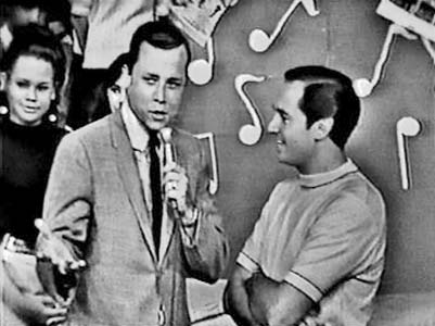 1960s - Rick Shaw with Neil Sadaka on Ricks Saturday afternoon TV show on WLBW-Channel 10
